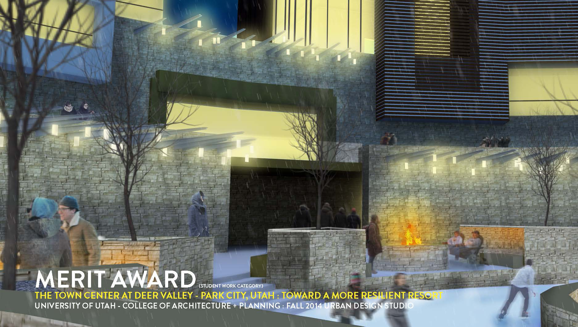The 2015 Urban Design Utah Merit Award Was Presented To The University Of  Utah College Of Architecture + Planning For The Fall 2014 Urban Design  Studio U201cThe ...