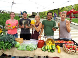 U of U Farmers Market | sustainableUTAH