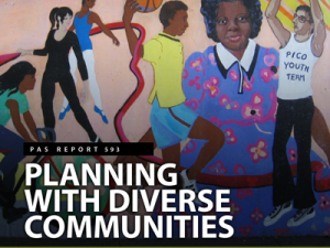 Faculty and students develop tools to help planners engage communities of color in the latest Planning Advisory By CMP Assistant Professor Ivis Garcia, CMP Ph.D. student Andrea Garfinkel-Castro and Associate Professor Deirdre Pfeiffer from ASU