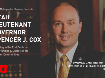Planning in Small Communities, Lecture by Lieut Gov Cox on April 24th