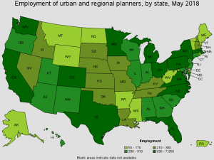 Job prospects look great for planners, especially in the western US