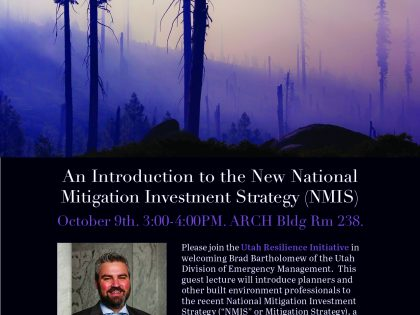 An Introduction to the New National Mitigation Investment Strategy (NMIS)