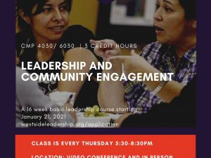 Leadership + Community Engagement – Spring 2021